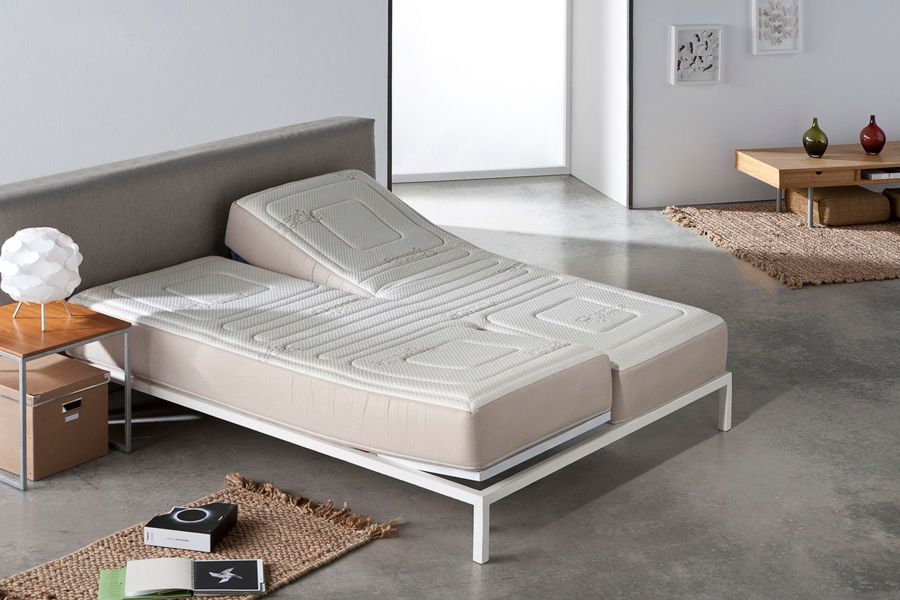 Colchón de matrimonio para cama articulada
